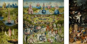Hieronymus Bosch, The garden of earthly delights, oil on canvas between 1480 and 1505, Prado Museum, Source: Wikimedia Commons