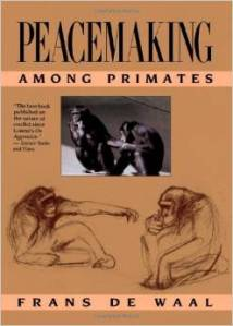 Frans de Waal, peacemaking among primates