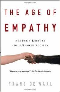 Frans de Waal, the age of empathy