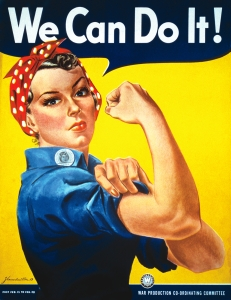 "Affiche ""we can do it"" de 1943"