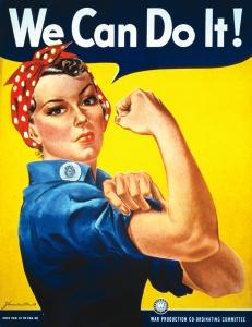 """Affiche """"we can do it"""" de 1943"""